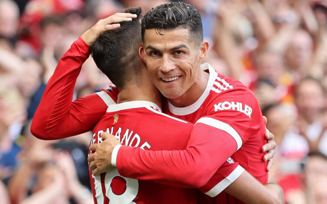 TLC Premier League Round-Up:CR7 Steals Show On Old Trafford Return As United, Chelsea And Liverpool Share Top Spot